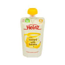 Váng sữa hoa quả nghiền Heinz Custard Úc - 120g - Mebaha