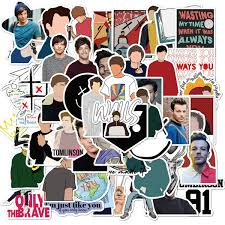 50pcs One Direction Singer Louis Tomlinson Stickers For Water Bottle Suitcase Guitar Laptop Car Motorcycle Styling Cool Waterproof Decal Sticker Wish