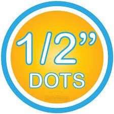 1 2 Inch Polka Dot Circles Wall Decals Polka Dot Circles Decalvenue Com Decal Venue