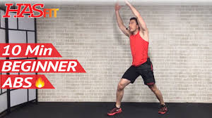 10 min easy abs workout for beginners
