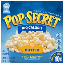 100 calorie er microwave popcorn