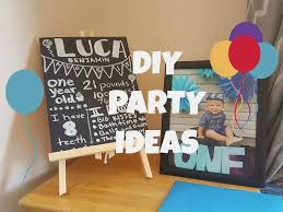baby boy s first birthday diy ideas