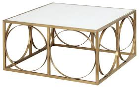 rossana square coffee table white stone