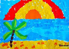 Аппликация «Порхающее лето»» — карточка пользователя trubitsina ...