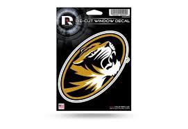 Missouri Tigers Ncaa Window Decal Sticker Officially Licensed Custom Sticker Shop