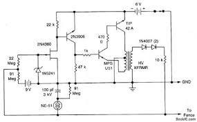 Electric Fence Electric Fence Alarm Circuit