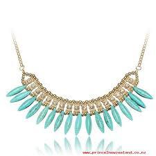 bohemia crystal pendant chain choker