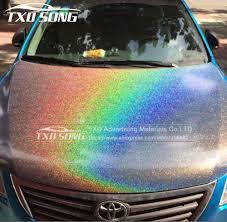 12 30 50 60cm X 100cm Lot High Glossy Chameleon Rainbow Vinyl Sticker Colorful Glitter Shiny Wrap Film With Air Free Bubbles Aliexpress