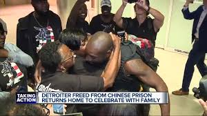 Detroit coach who served 3 years in Chinese prison returning home today