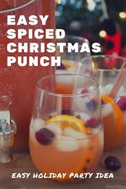 easy ed christmas punch with vodka