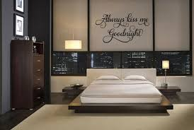Always Kiss Me Goodnight Wall Quote Decal Love Bedroom Decor Wall Lettering For Sale Online Ebay