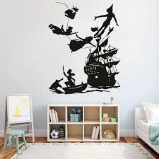 Big Sale C518 Pirates Ship Wall Decals For Kids Room Decoration Boy Dream Cartoon Vinyl Wall Sticker Waterproof Home Art Decor G437 Cicig Co