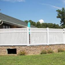 Weatherables Hanover 5 Ft H X 6 Ft W White Vinyl Pool Fence Panel Pwpo Sp 5x6 The Home Depot