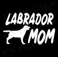 Labrador Dad High Quality Vinyl Decal Dog Sticker For Car Bumper Wall Mugs Truck Ebay