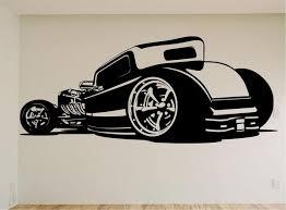Pontiac Gto Wall Decal Stickers Murals Boys Room Man Cave