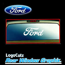 Sell Big Ford Oval Logo Vinyl Decal Emblem Sticker For Car Truck Hood Trunk Window Motorcycle In York Pa Us For Us 18 89