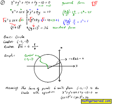 unit 7 conic sections