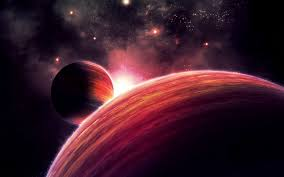 outer space background hd wallpaper