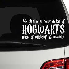Hogwarts Honor Student Harry Potter Vinyl Decal Sticker Hogwarts Window Car Car Truck Decals Stickers Car Truck Graphics Decals Moonnepal Com