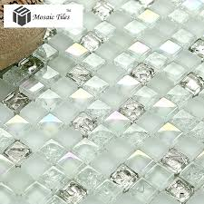 tst crystal glass mosaic tile aqua