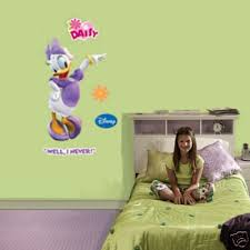Daisy Duck Fathead Official Disney Vinyl Wall Graphic 43 X26 New Huge 373186571