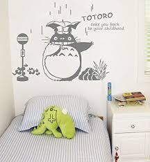 Cheery Totoro In Rain Wall Sticker Baby Buy Online In Mongolia At Desertcart