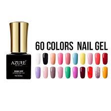 best nail gel azure gel polish uv led