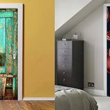 20 Best Decorative Door Wallpaper Adhesives To Brighten Up Any Room The Best Door Wallpaper Stickers