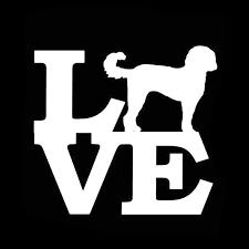 Yjzt 15 2cm 14 1cm Goldendoodle Love Naughty Dog Car Vinyl Sticker Decals Black Silver C10 00210 Car Stickers Aliexpress