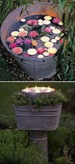 diy outdoor lighting ideas floating