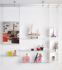hanging shelving system contemporary