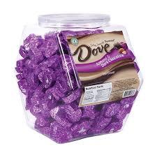 dove chocolate promises changemaker tub