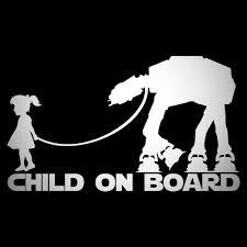 Banksy Child On Board Decal Sticker For Car Van Caravan 4x4 Safety Star Wars Ebay