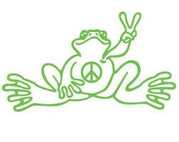 Hippie Decal Etsy
