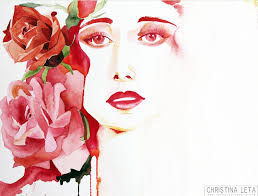 "Overgrown"", Christina Leta Smith, Watercolor, defectivebarbie.com 