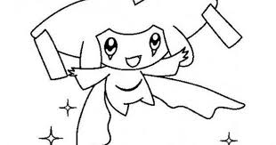 Kleurplaat Jirachi Pokemonkleurplaat Http Www Pokemon