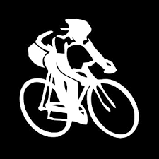 Amazon Com Cycling Bicycle Sport Car Truck Notebook Vinyl Decal Sticker 1208 Vinyl Color White Automotive
