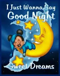 good night good night sweet dreams