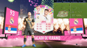 LUKA JOVIC 93 SUMMER HEAT SBC REVIEW FIFA 20 / VALE LA PENA? - YouTube