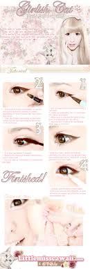 korean cat eye makeup tutorial