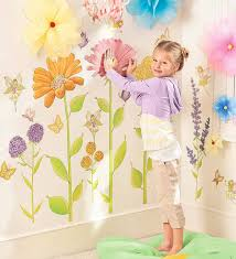Set Of 42 Assorted Fairy Garden Hand Drawn Decorative Wall Stickers Hearthsong