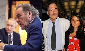 Oscar winning director Oliver Stone asks Vladimir Putin to be his  22-year-old daughter's godfather