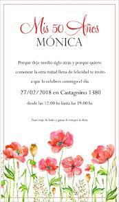 Invitaciones Tarjeta Digitales Cumpleanos 30 40 50 60 70 80