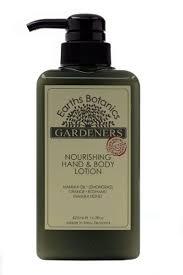 earth botanics gardeners hand cream