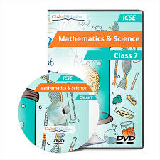 icse class 7 maths and science animated