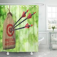 com semtomn shower curtain