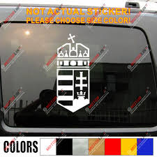 Hungary Coat Of Arms Hungarian Decal Sticker Car Vinyl Pick Size Color No Bkgrd Car Stickers Aliexpress