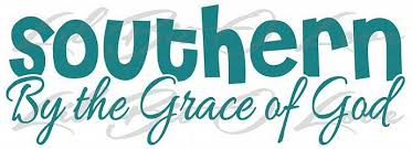 Southern By The Grace Of God Vinyl Decal Belle Lilbitolove