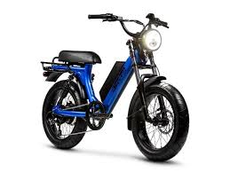 Juiced Bikes Scorpion Ebike: Moped Style With An Incredible Range Of 75  Miles -   Electric moped, Moped bike, Electric bike