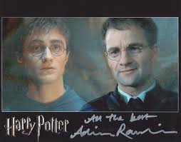 ADRIAN RAWLINS - Harry Potter – Hollywood Autographs